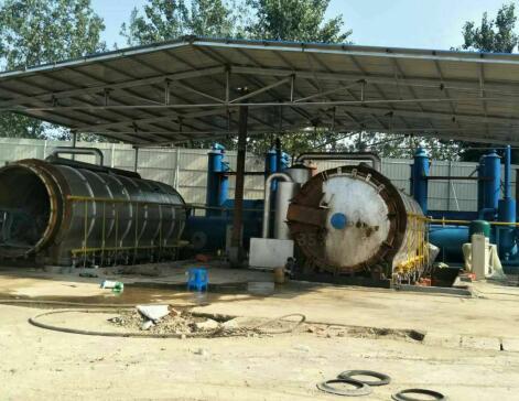 废轮胎炼油设备价格  废轮胎炼油设备哪家好 炼油设备就找鼎铂威供应商