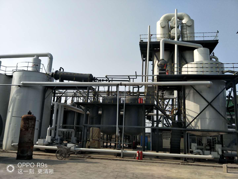 废机油炼油设备的工艺特点