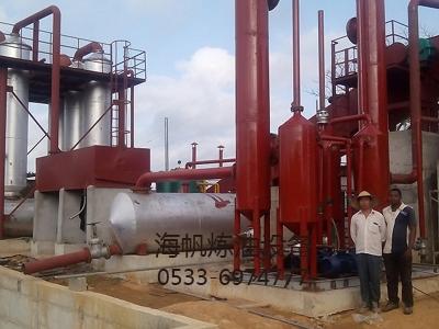 废塑料炼油设备优质供应商带您了解加氢反应器内构件有哪些?有何作用?
